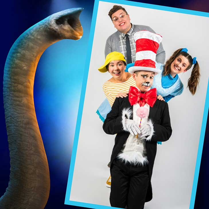 Cast Of The Cat In The Hat: Southwark Playhouse
